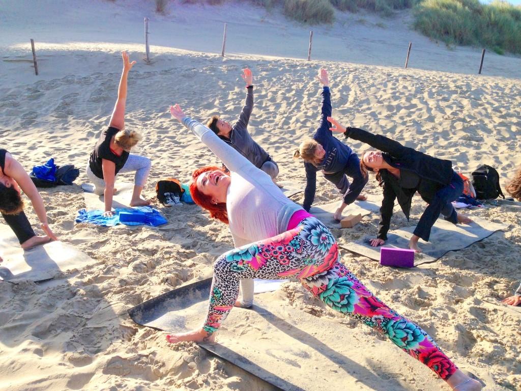 Yoga en Geniet Weekend Texel